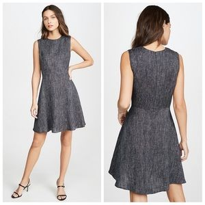 NWT-Theory Chic & Timeless Dart Fit & Flare Dress
